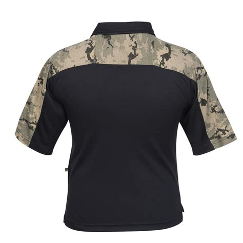 Digital Polos 4imprint ca digital camo accent wicking polo s