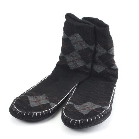 mens fashion boat shoes with socks fashion casual men floor slipper socks non slip thick