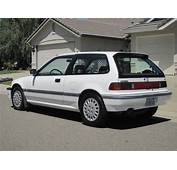 1989 Honda Civic Si  News Reviews Msrp Ratings With