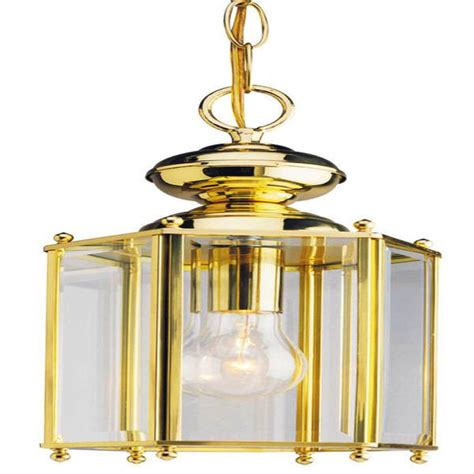 Solid Brass Light Fixtures Westinghouse 66854 1 Light Polished Solid Brass Ceiling Dual Mount Light Fixture Elightbulbs