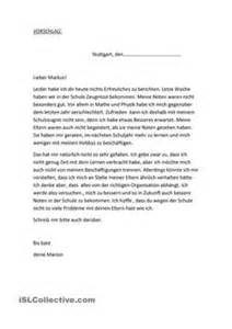 Formeller Brief Beispiel Einen Privaten Brief Schreiben Beispiel F 252 R Den Aufbau Brief Briefs And