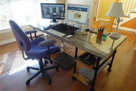 desk with side reclaimed wood pipe desk with side shelves desk week
