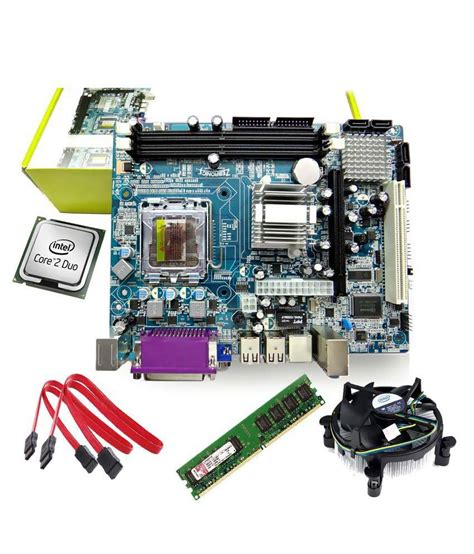 Ram Cpu 1gb compare zebronic motherboard with 2 1 ghz core2duo processor 1gb ram intel cpu fan and mcafee