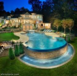 Cool Houses With Pools by Really Cool House And Pool Cool Pictures