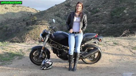 female motorcycle biker a gorgeous female ducati motorcycle rider