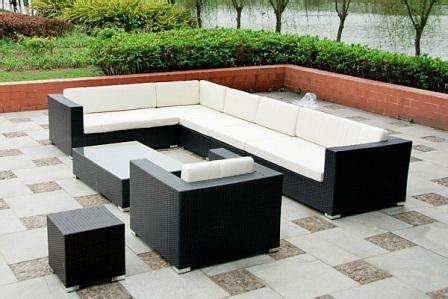 meuble patio rotin meubles de jardin mobilier patio design pas cher