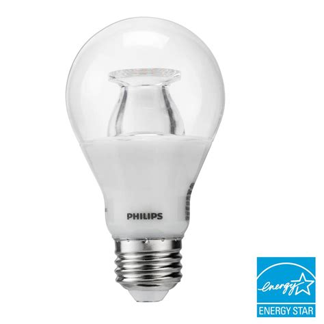 Lu Led Philips Warm White philips 40w equivalent soft white clear a19 led energy