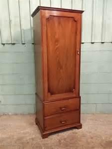 Narrow Wardrobes For Sale Antique Edwardian Narrow Single Oak Wardrobe