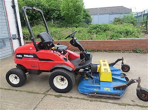 Shibaura Cm364 Out Front Diesel Ride On Tractor Mower 4wd