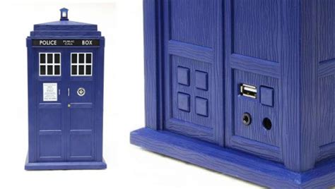 Usb Tardis Complete With Vworp by Whosound Tardis Speakers A New Dimension In Sound