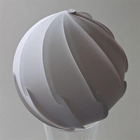 Paper Sphere Origami - 130 mm diameter paper t 148郤m 128g m2 10 strips s shape