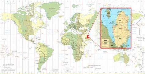 world map image qatar we ve arrived trish roth s weblog