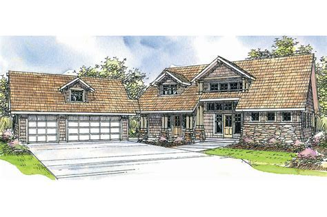 Lodge Style House Plans   Mariposa 10 351   Associated Designs