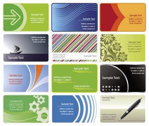 cornici per biglietti da visita 12 bigliettini da visita business cards vettoriali