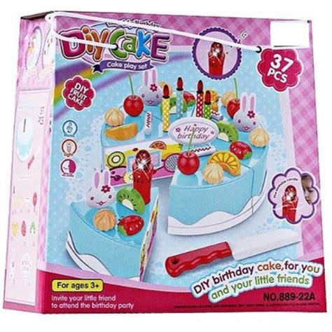 Mainan Anak Diy Fruit Cake mainan anak diy fruit cake kue ulang tahun potong potongan