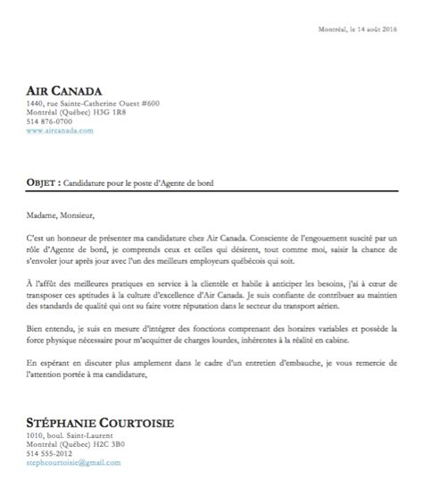 Exemple De Lettre De Motivation Et Pretention Salariale Pdf Exemple Lettre Pr 233 Sentation Cv Mod 232 Le De Lettre
