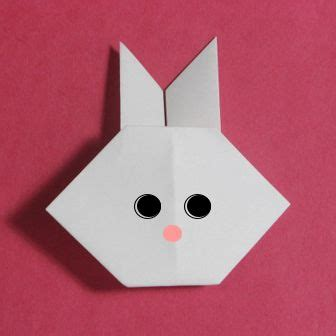 origami rabbit easy how to origami rabbit easy origami for kid bits bobs