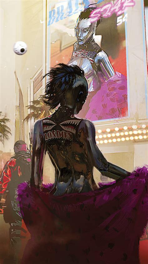 wallpaper cyberpunk    artwork  games