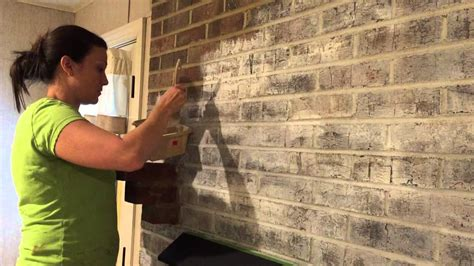 how to white paint how to whitewash a brick fireplace