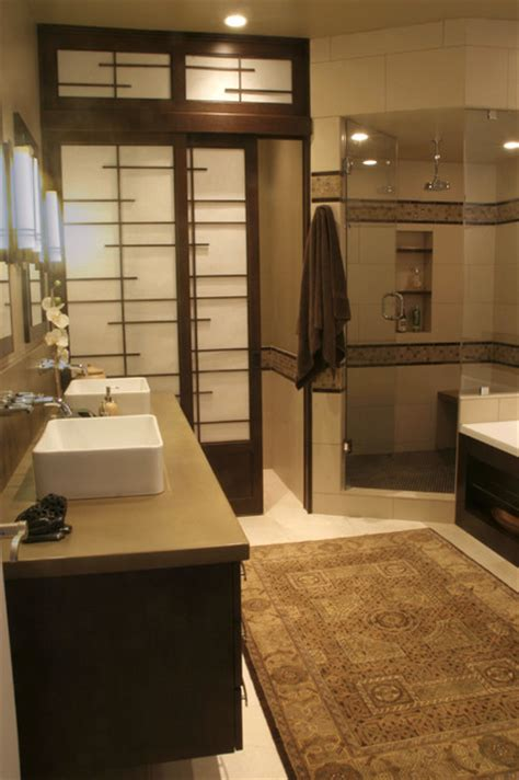 master bathroom asian bathroom denver  design