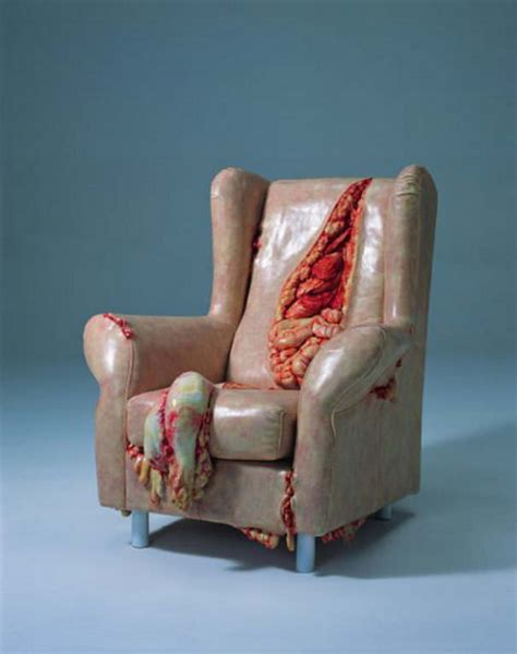 weird sofas a special chair designed for zombies by cao hui