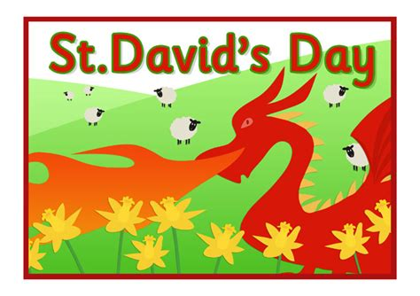 st david s day a4 poster dydd gwyl dewi free early years primary teaching resources eyfs