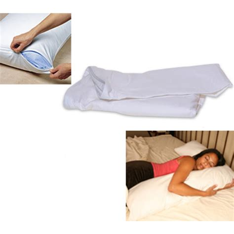 comfort cover cover l side sleeper pillow cover white