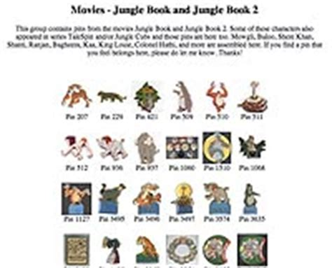 jungle book characters names and pictures links 5 the jungle book collection