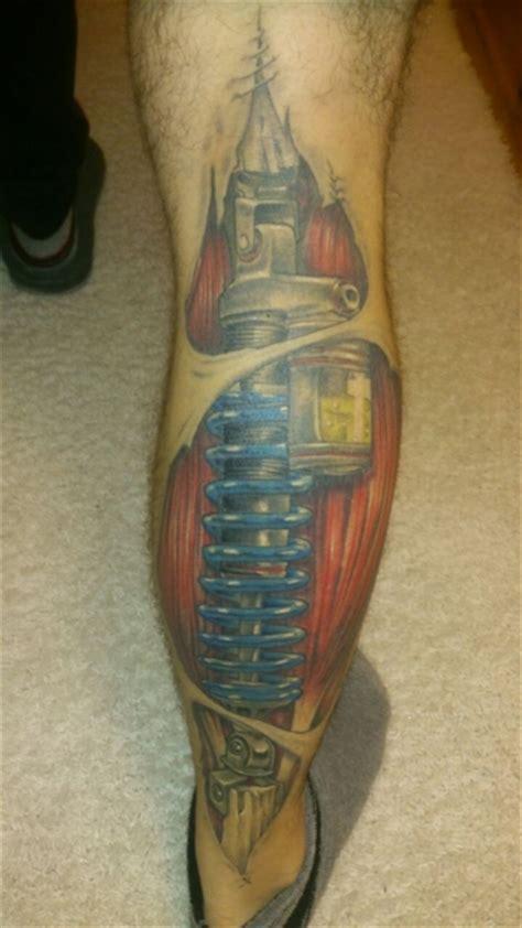Biomechanik Muskeln Tattoos