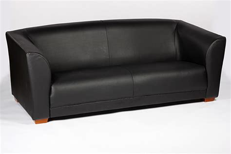 ebony couch soft furnishings total event rental