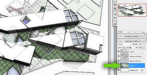sketchup layout change background color sketchup to photoshop no render engine required