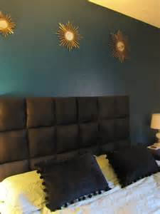 diy headboard for 40 so easy so doing this