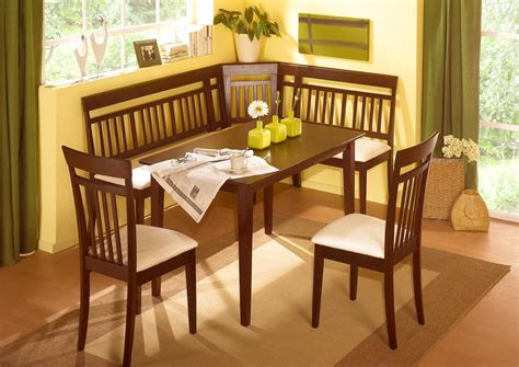 bench style dining table uk bench dining sets uk fancy corner nook dining the