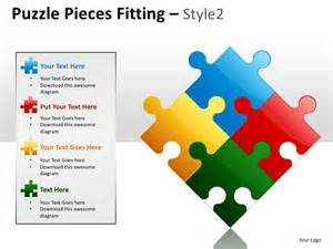 powerpoint puzzle template puzzle pieces fitting style 2 powerpoint presentation