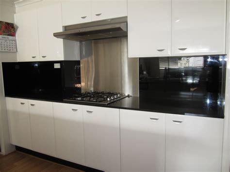 Backsplash Designs For Kitchen acrylic splashbacks with metaline insert behind the