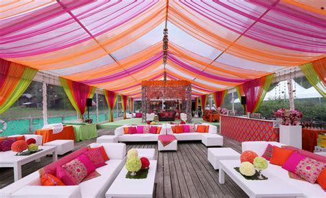 Resort Wedding ceremony or Mehndi ceremony ideas for