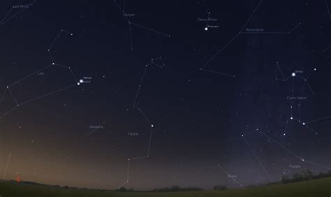 bright light in sky last night nite sky stars and planets pics about space