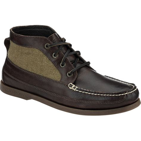 sperry boots mens sperry top sider a o boat chukka boot s
