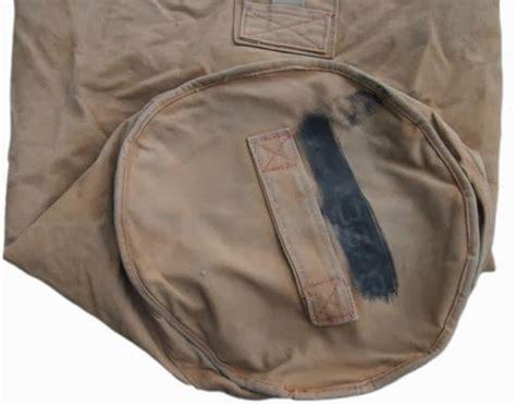 December Bag Navy webbingbabel kit bag ex royal navy issue