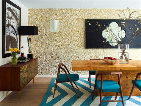 ways to decorate a living room 27 splendid wallpaper decorating ideas for the dining room