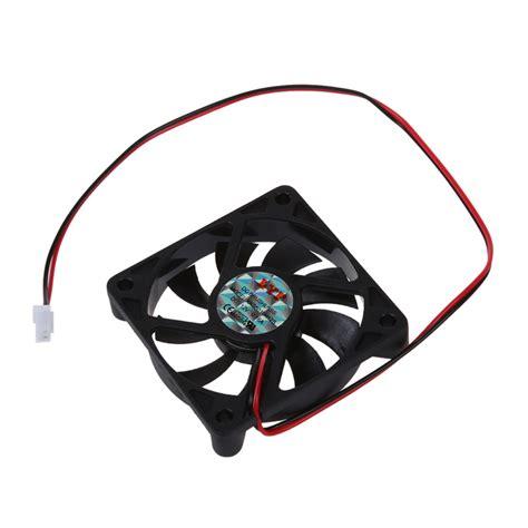 2 pin computer fan desktop pc case dc 12v 0 16a 60mm 2 pin cooler fan