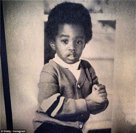 Diddy And Show The Babies by Diddy Shows He Always Had Swagger In Childhood Photo Of