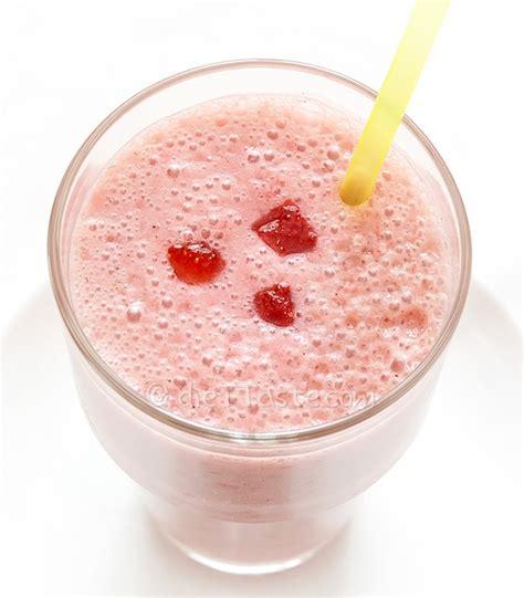 Strawberry Milk Almond almond milk strawberry smoothie diet taste