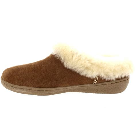 sheepskin mule slippers uk womens genuine suede australian sheepskin fur lined warm