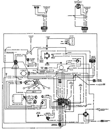jeep wagoneer dash wiring diagram wiring diagram schemes repair guides wiring diagrams wiring diagrams