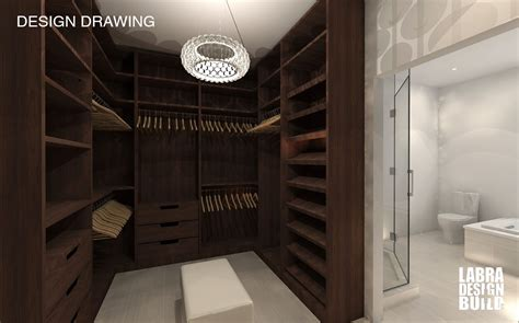 build walk in closet walk in master closet labra design build commerce mi