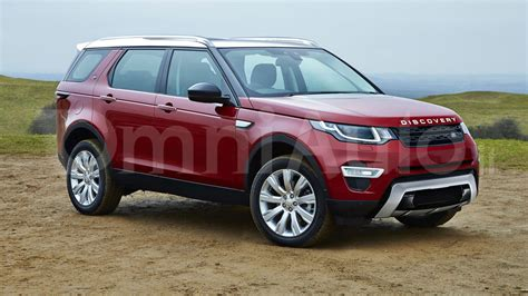 land rover model 2017 2017 land rover discovery gets rendered