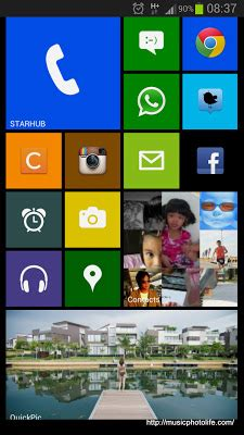 Android Like Windows Phone by Android Launcher Like Windows Phone Interface Launcher 8
