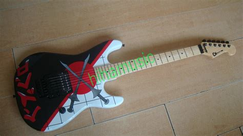 V Tec Painting Knife Type 2010 free shipping new evh halen guitar charvel guthrie govn knife painting floyd tremolo