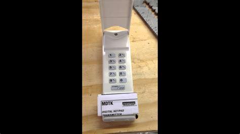reset linear garage door opener keypad dandk organizer